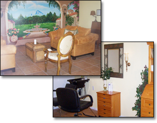 Activity room and full service beauty salon and barber